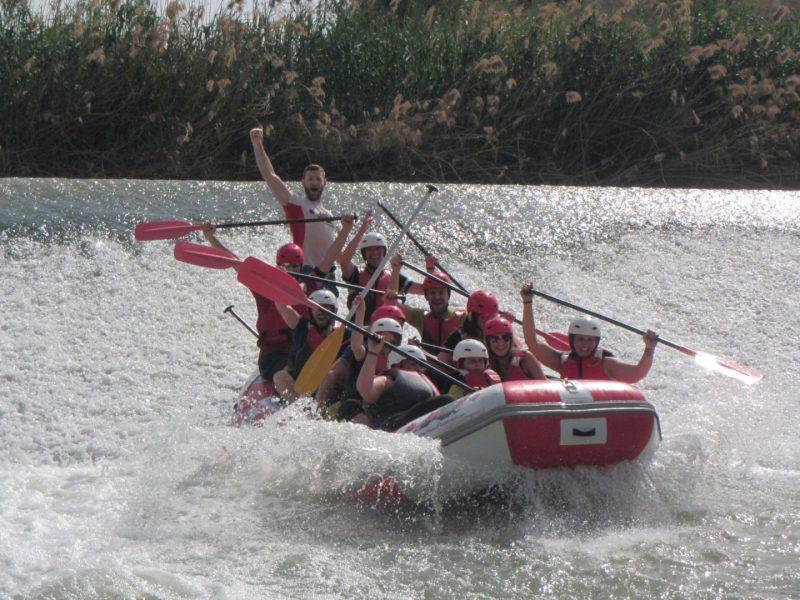rafting Murcia descenso del segura
